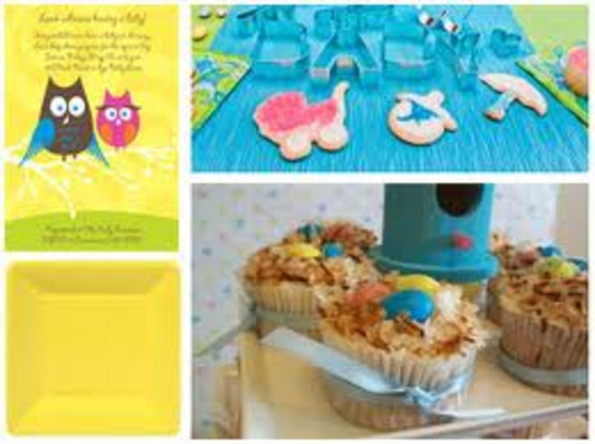 Special looking treats are always appreciated at baby showers. You can create a lot of different items for cheap.