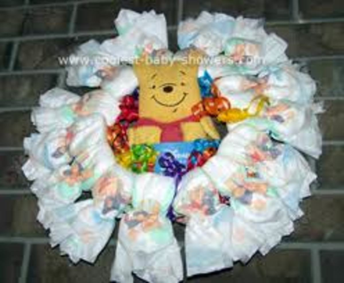 This baby shower wall decoration is a great idea and very creative. Be unique and creative when decorating for your baby shower.