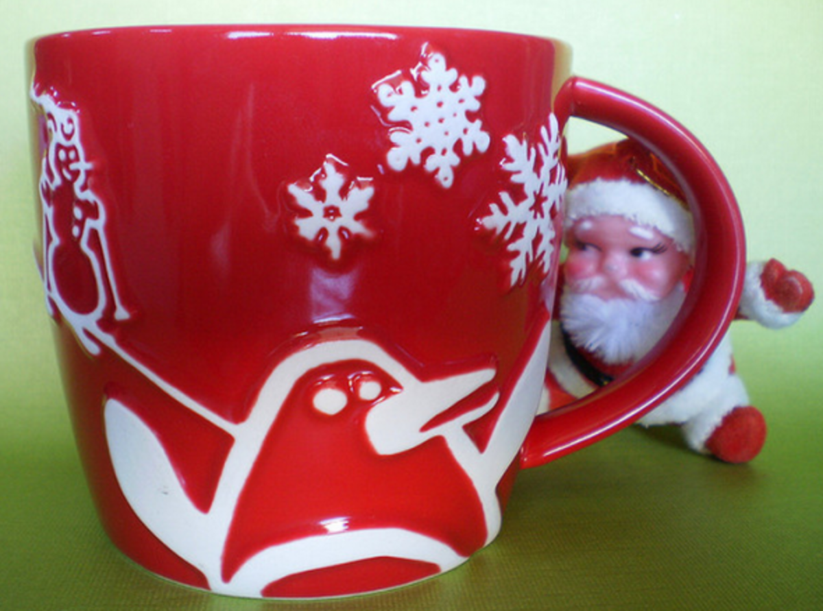 Red Starbucks Christmas Coffee Mugs