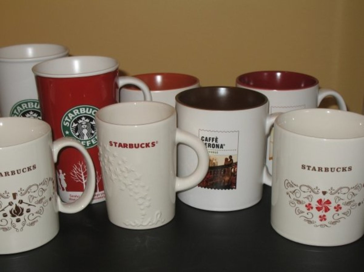 Starbucks Mug Collection