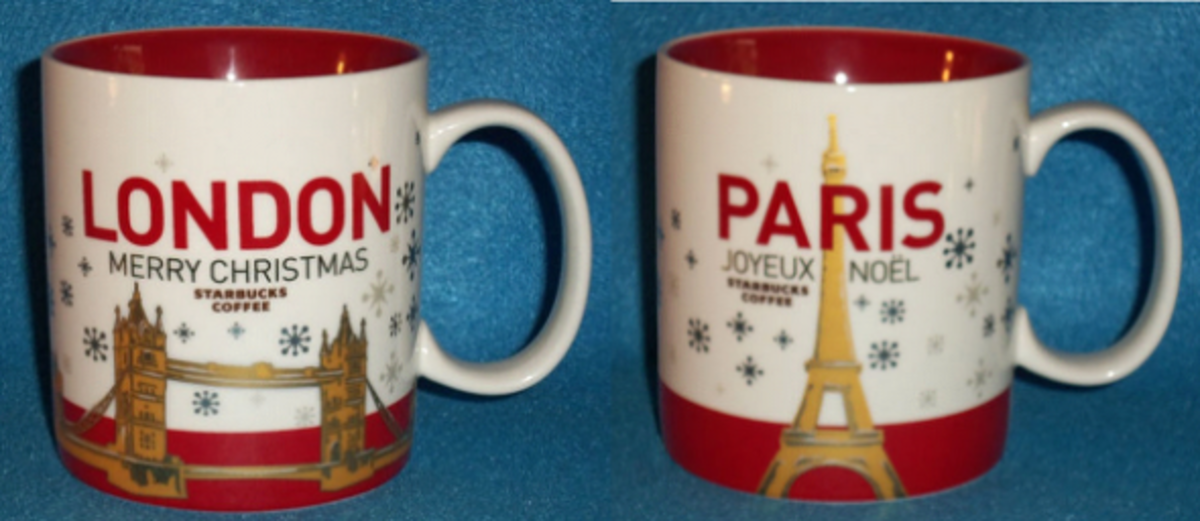 Most Expensive Starbucks Christmas Mugs
