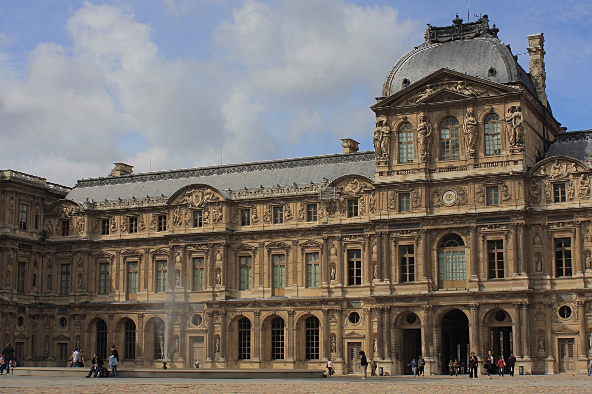 The Louvre - perhaps the most famous museum in the world