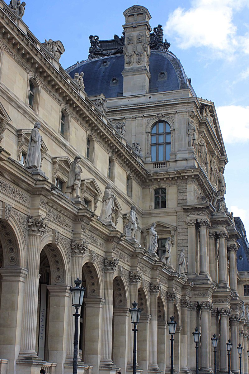 The Pavillon de l'Horoge (Clock Pavillion) built in the mid 17th century, is probably the Louvre's most famous wing, also now commonly known as the Pavillon Sully