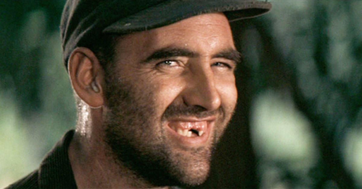 The weird, tooth-deficent guy from Deliverance