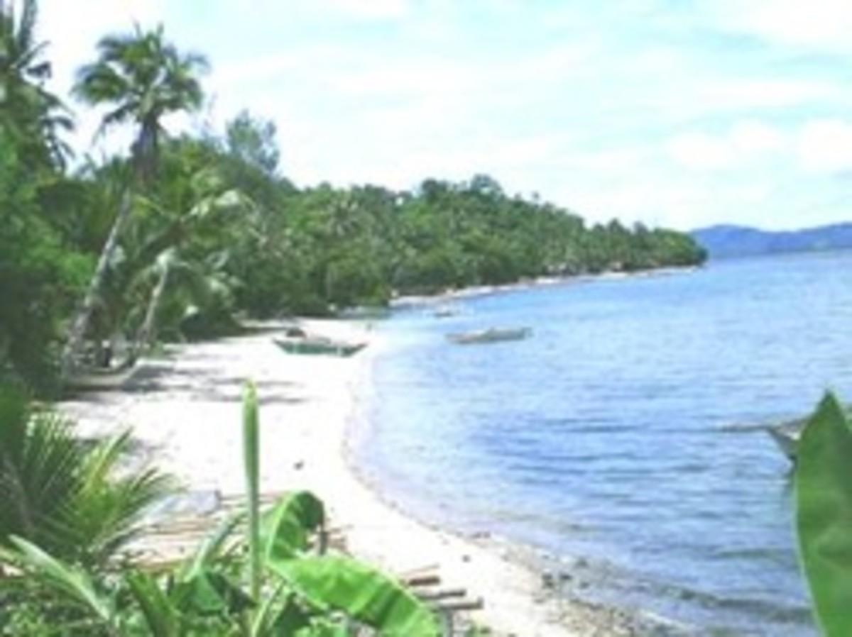Beach paradise in Capiz