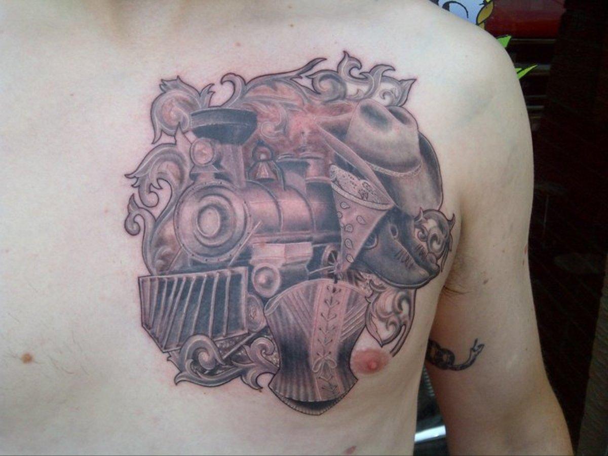 Custom tattoo art