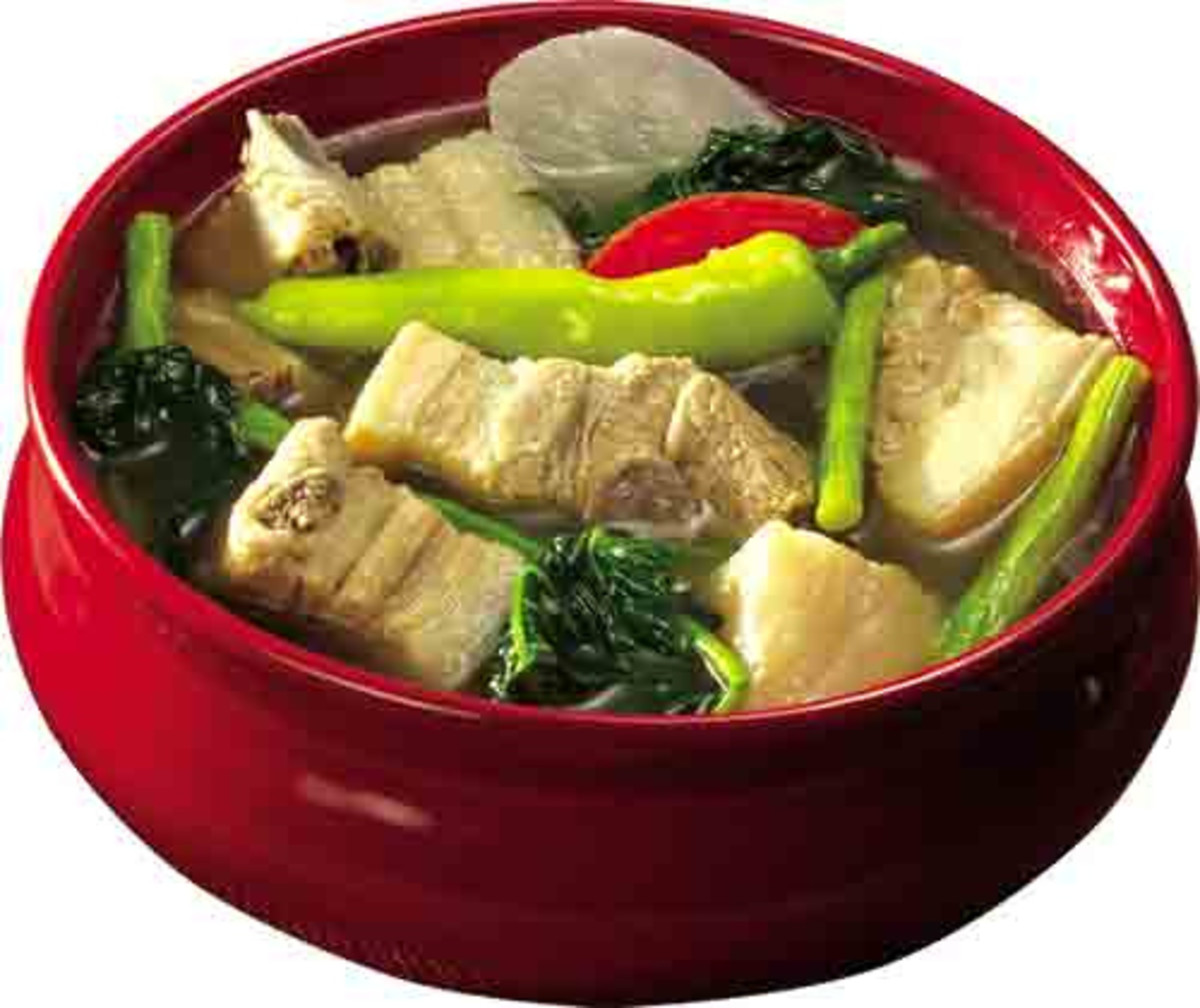 Sinigang na Baboy - Pork in Sour Broth (Photo courtesy by Potsky2009 from Flickr.com)