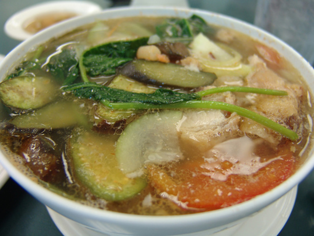Pork Sinigang - Pork in Sour Broth and Vegetables by takaokun