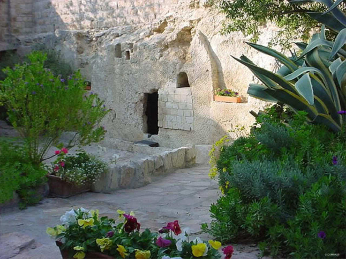 christ-crucified-buried-resurrected-place
