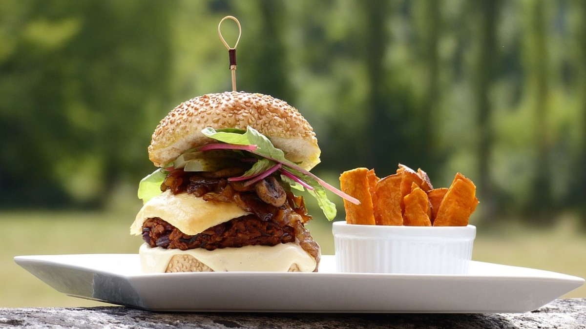 Smoky Pinto Burger