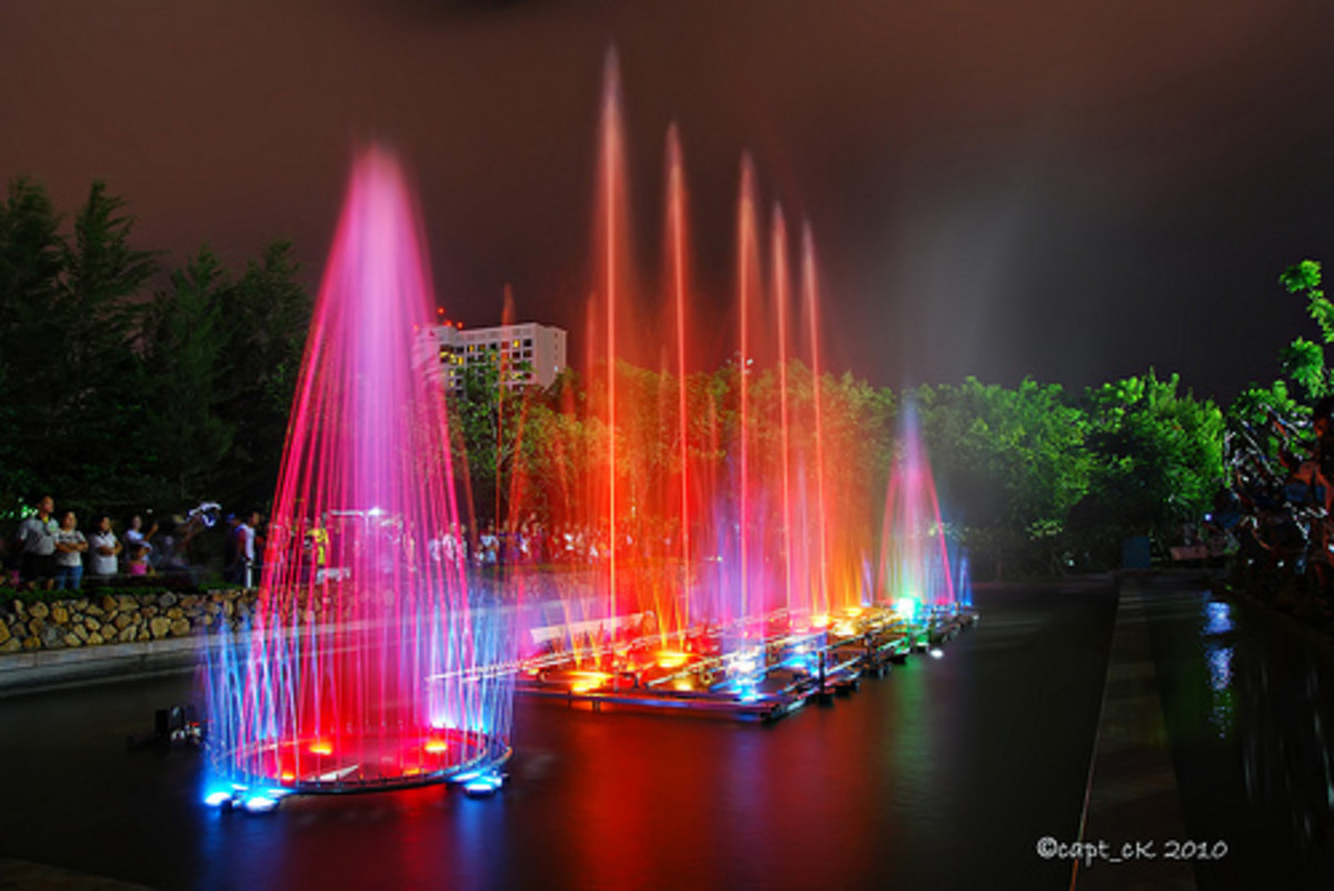 People's Park Dancing Fountain
