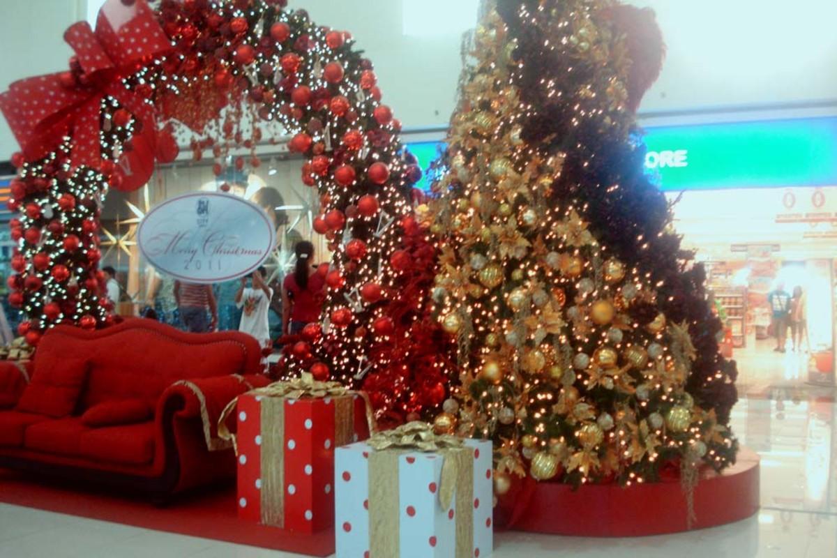 SM City Davao celebrating Christmas