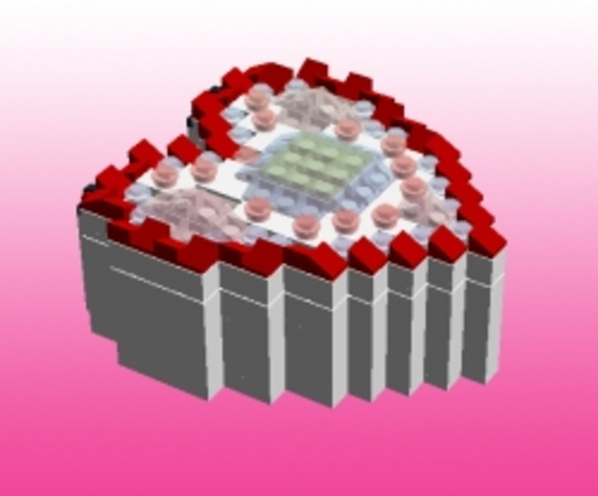 Valentine's LEGO Kits, Instructions, Ideas and Crafts