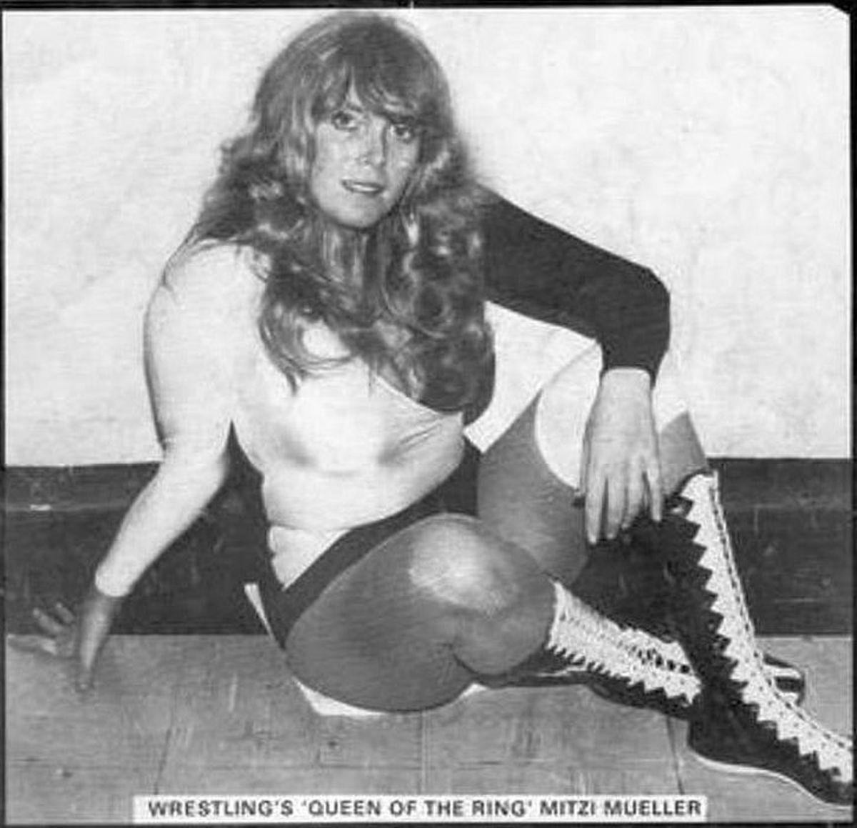 British Women's Pro Wrestling - Mitzi Mueller