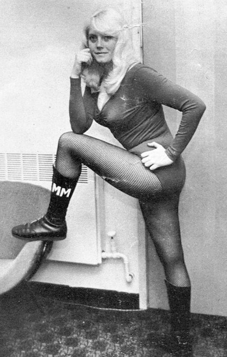 British Female Wrestling - Mitzi Mueller
