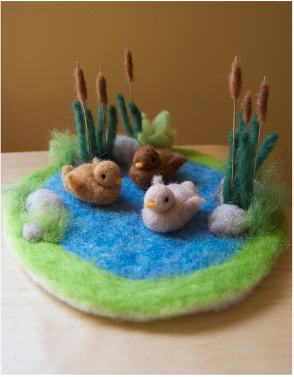 craft ideas with wool needle felting amp felting beginner s 3995