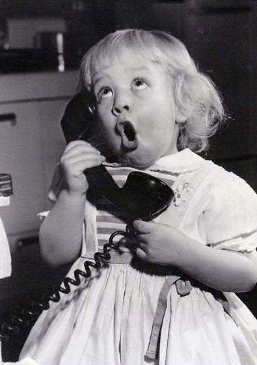 Call Me... Keep in touch with those you love. Don't put it off.