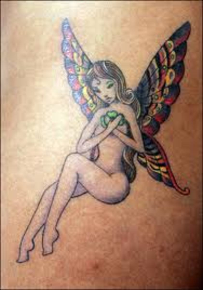 Fairy Tattoos, Fairy Tattoo Designs, And Fairy Tattoo Meanings; Pixie And Sprite Tattoos And Meanings-Fairy History