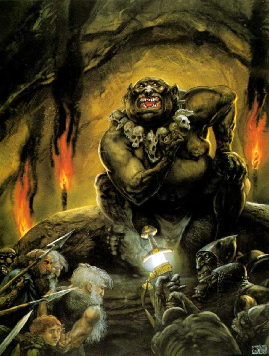The Great Goblin - art by John Howe