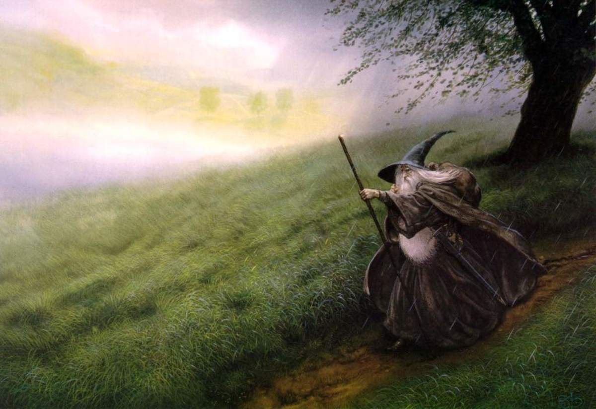 Gandalf - art by John Howe