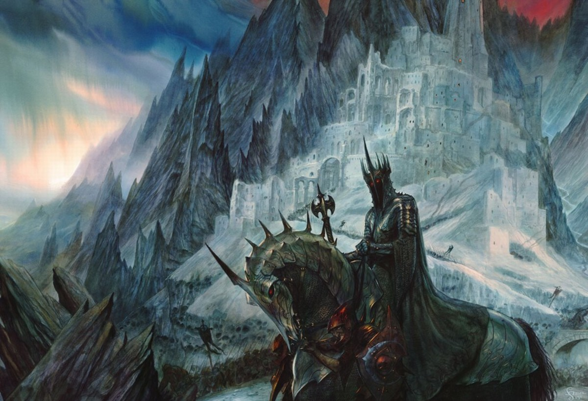 Minas Morgul - art by John Howe
