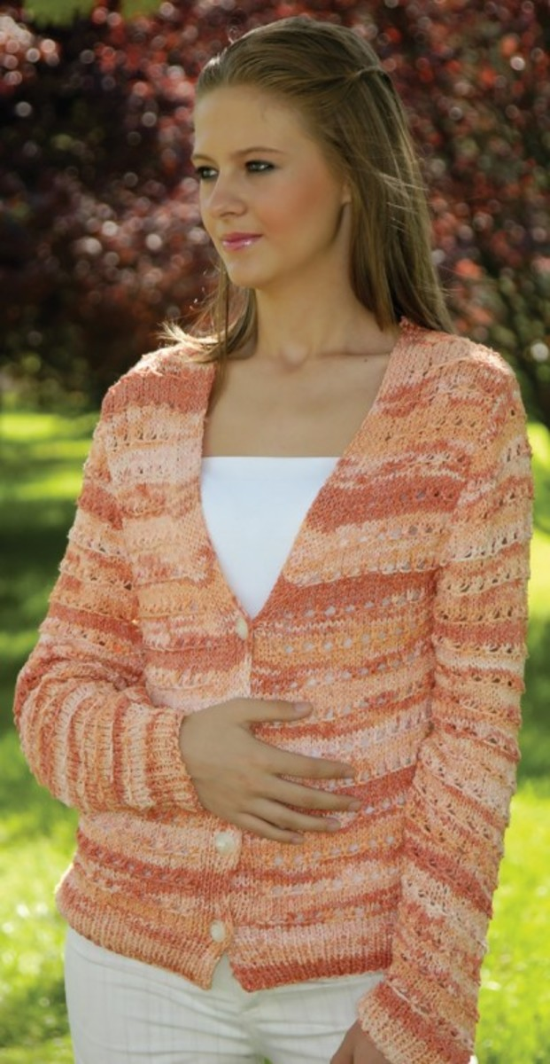 Sweaters Free Online knitting Patterns - Knitted Cardigans Vests Patterns F...