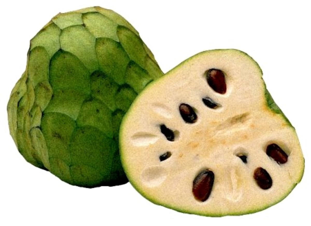 Cherimoya, the fruit you can eat like ice-cream