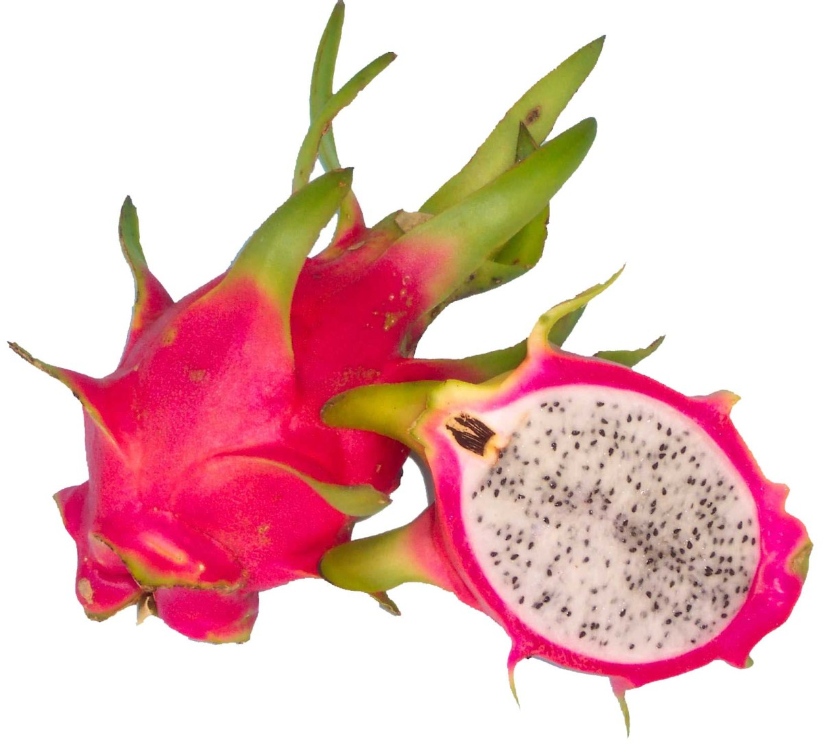 A pitaya or dragon fruit
