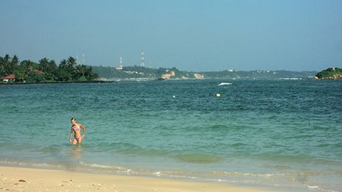 Snorkeling at Polhena Beach: one of the Best Beaches in Sri Lanka