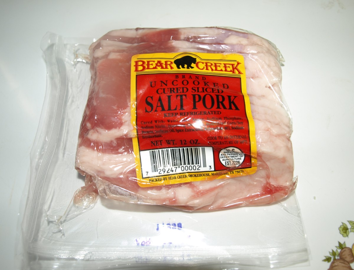 Salt Pork or Similar to Pancetta in Italian
