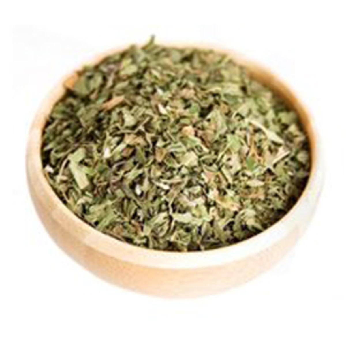 A closer look at Refresh tea.