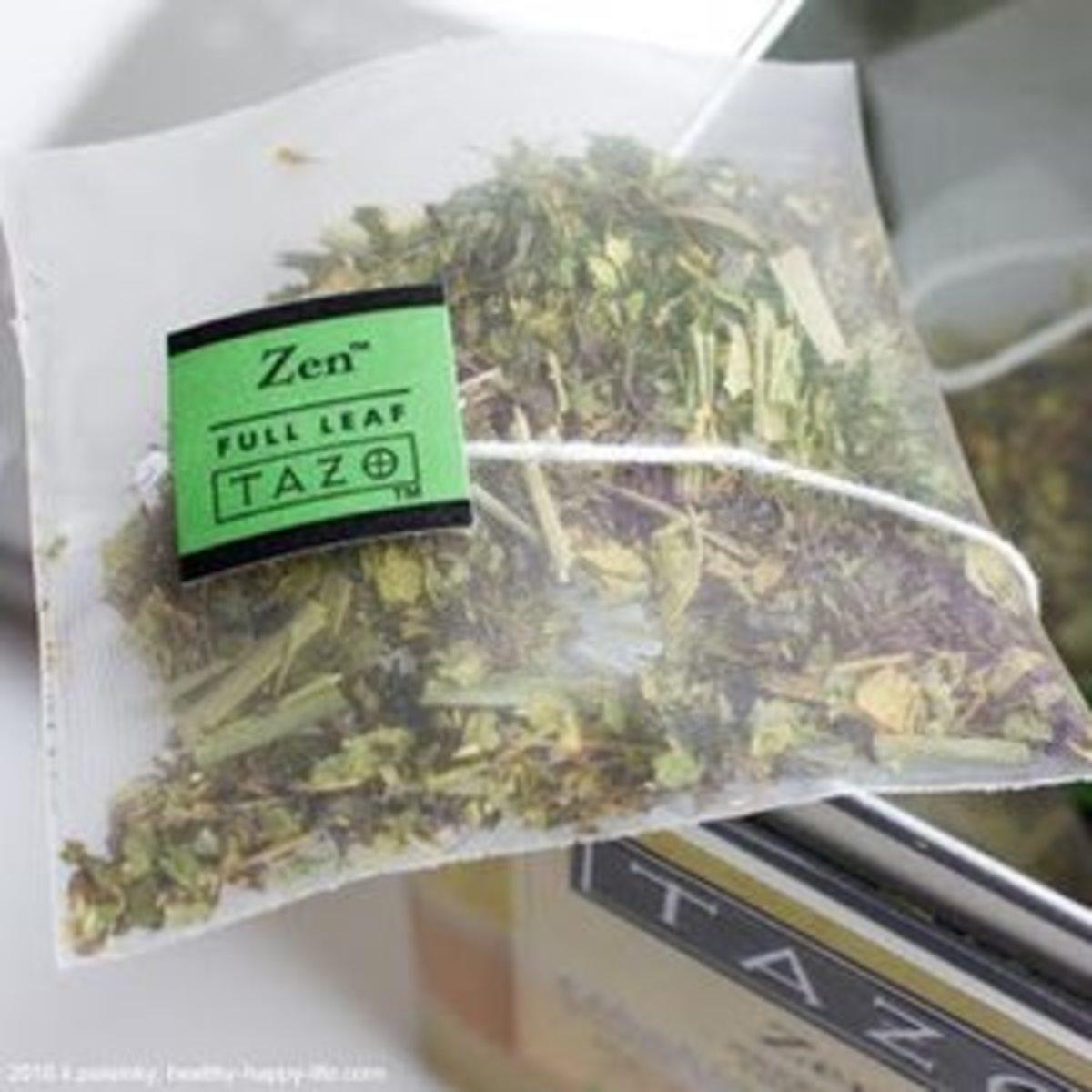 The minty, refreshing Zen green tea.
