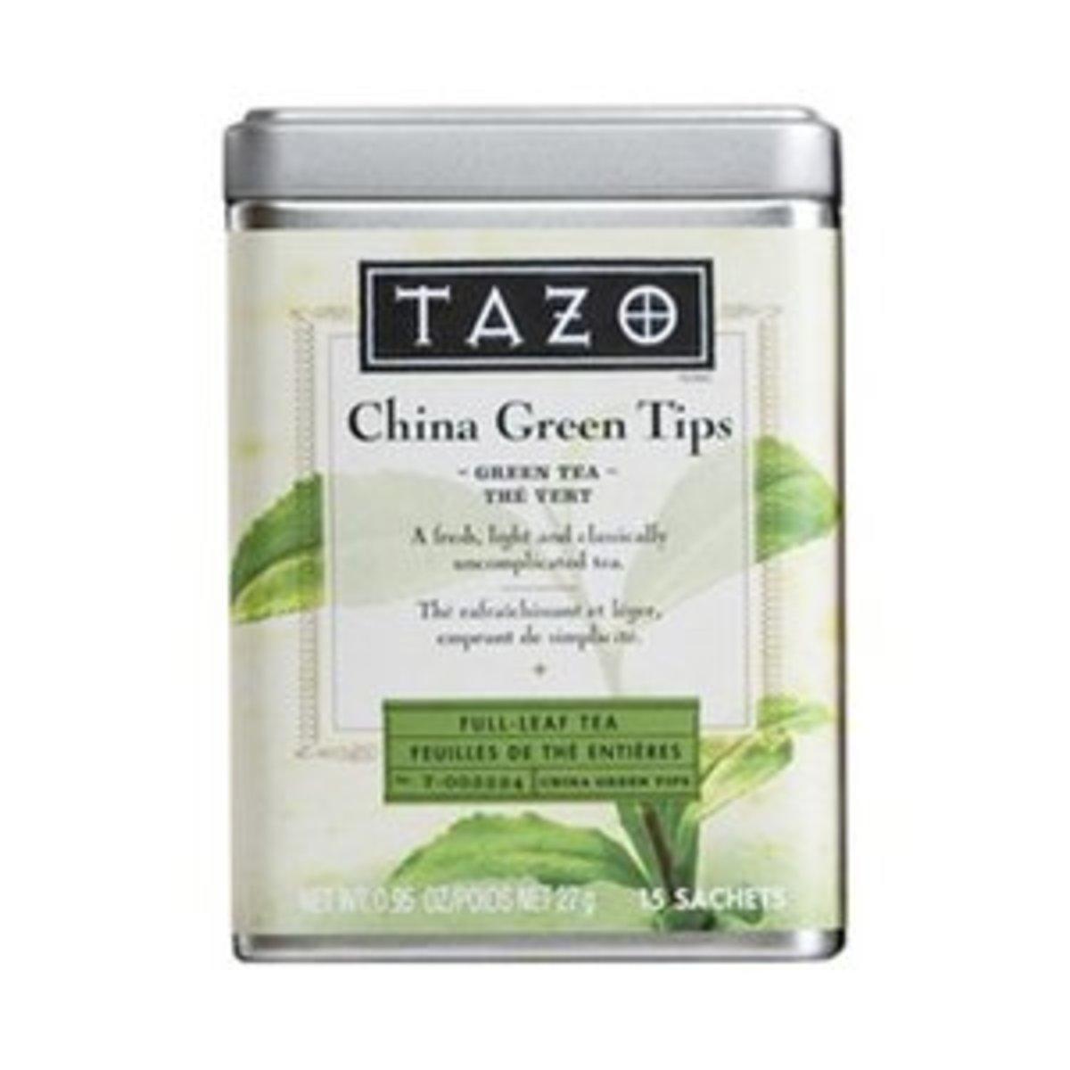 The classic green tea, China Green Tips.