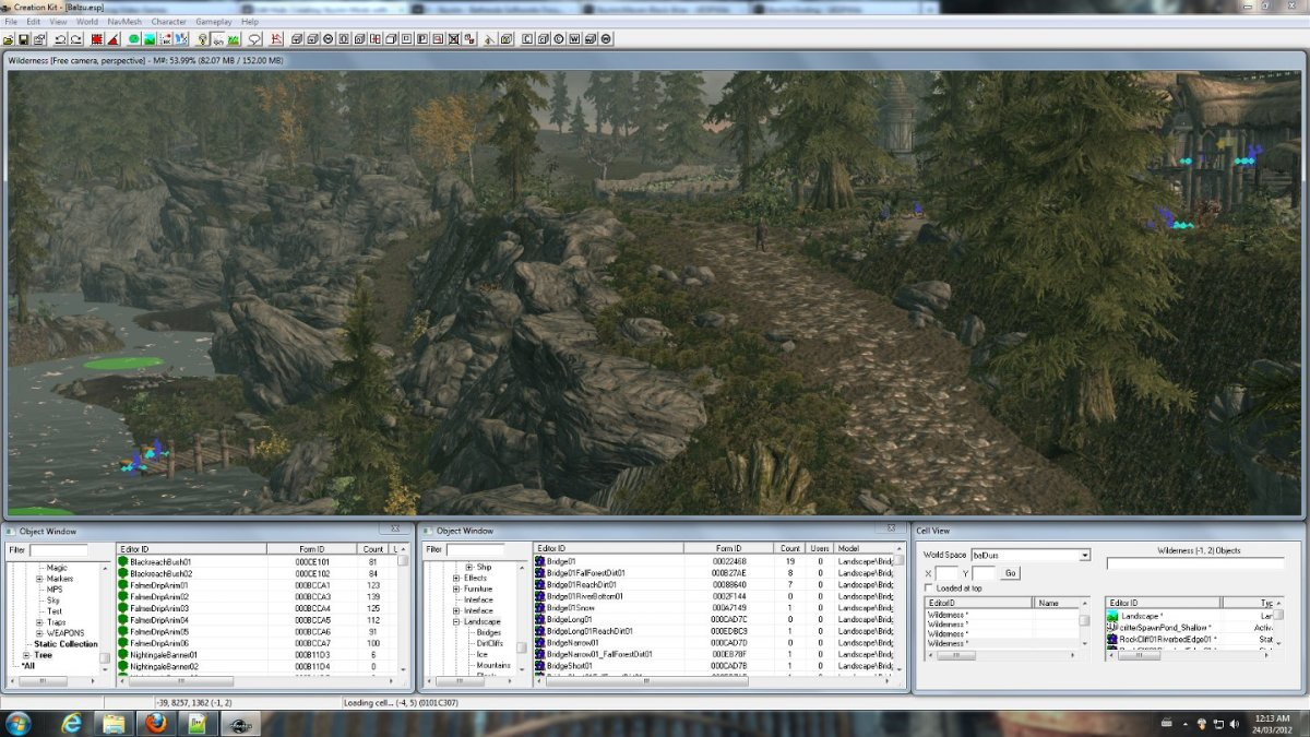 Here's a screenshot of a mod that I'm working on. You can find out more about the mod on my website if you're curious.