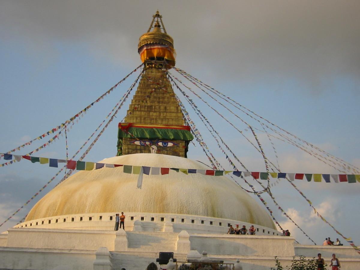 Buddhist monastery in Kathmandu