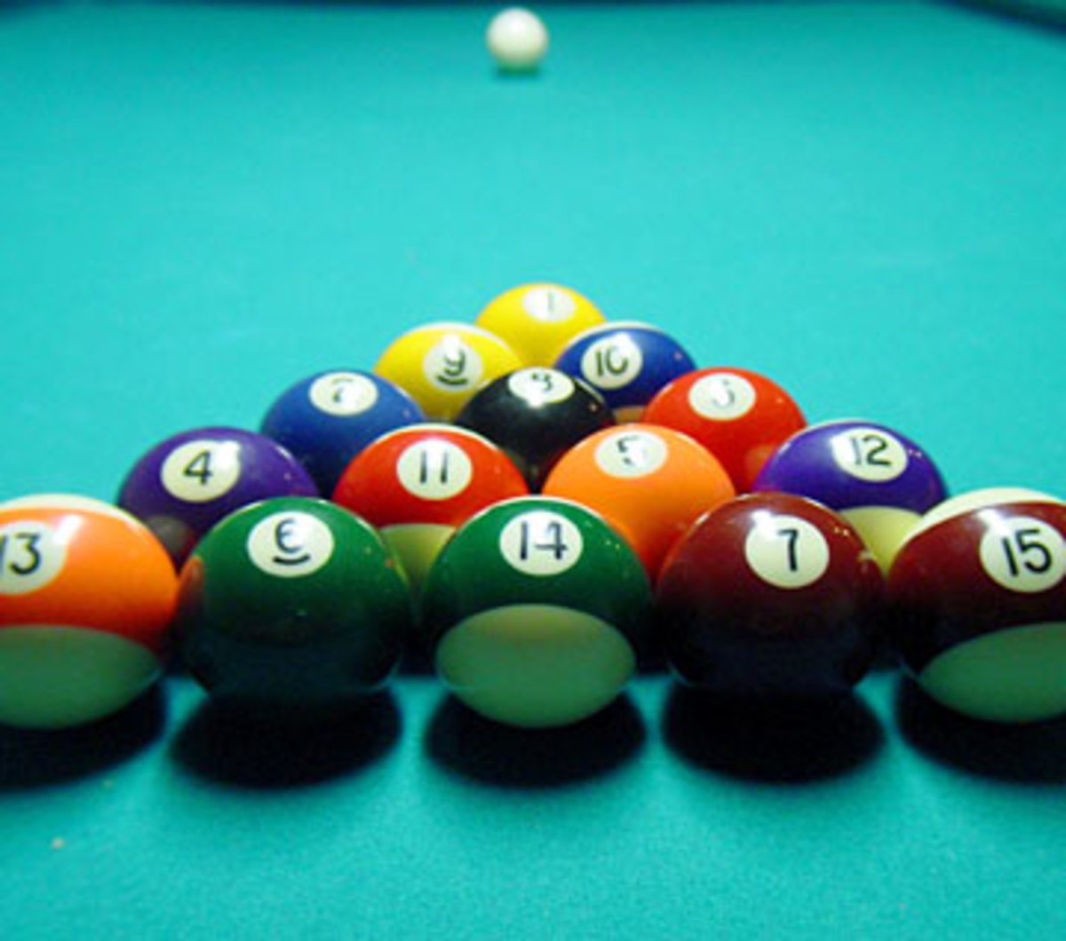 The Beauty Of Pool - A Close Up Of The 8 Best Players In The Carolinas
