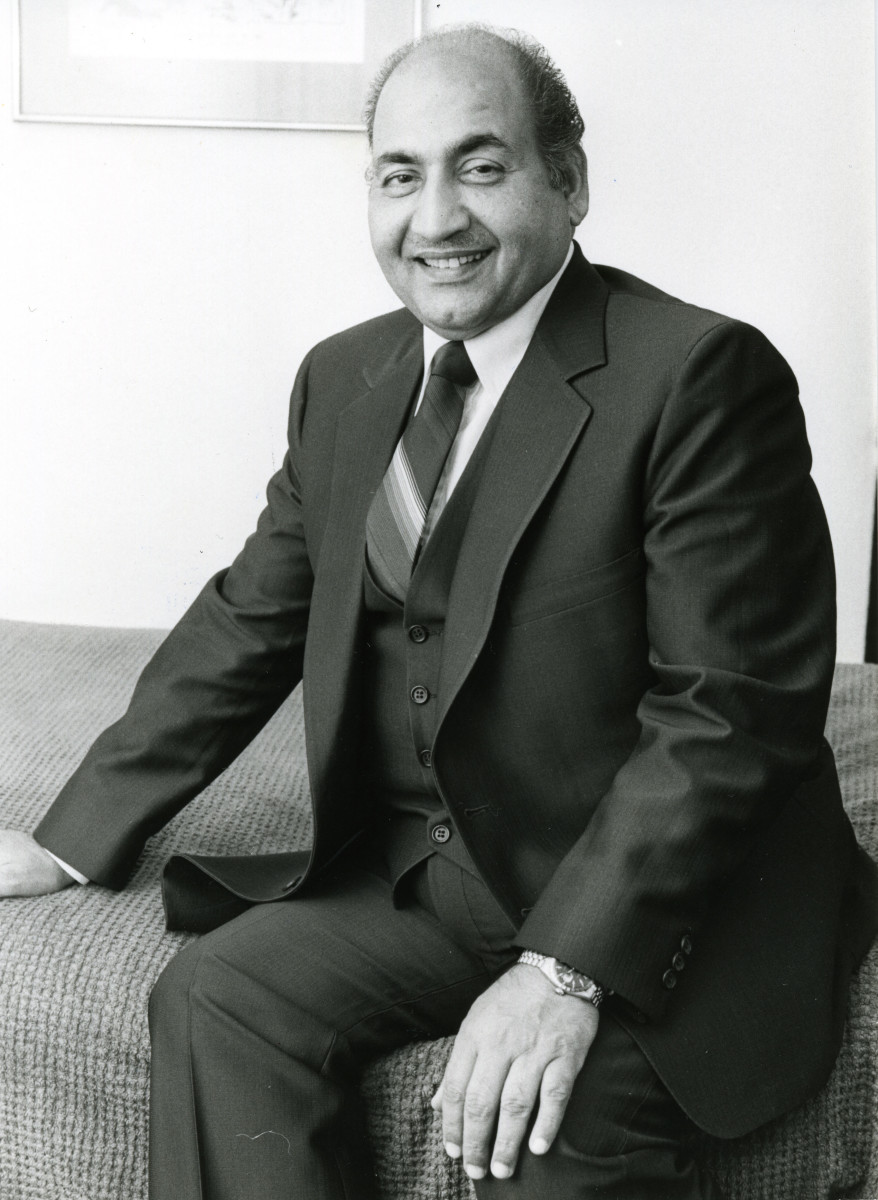 Mohd Rafi - The Indian Bollywood Singer - Some Award Winning Songs