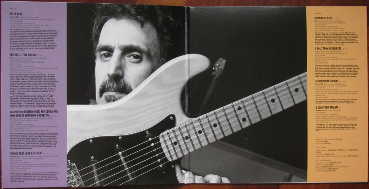 Frank Zappa owned a Strat which was in part, one which had once beloned to Jimi Hendrix.