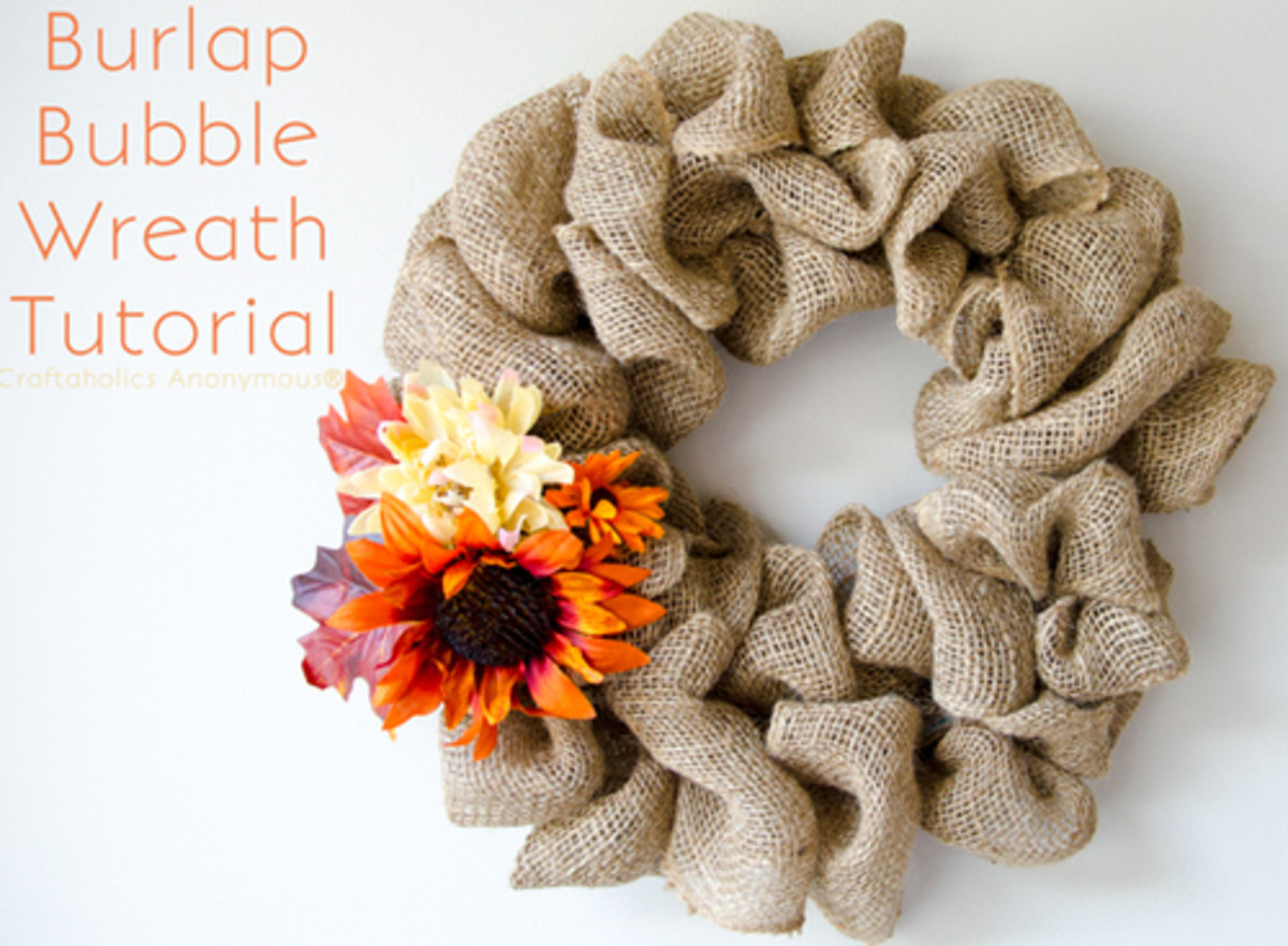 27 Gorgeous Wreath Making Craft Ideas