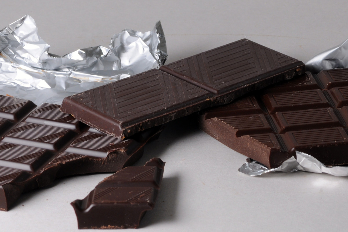 Eating rich dark chocolate can sometimes make you sneeze.