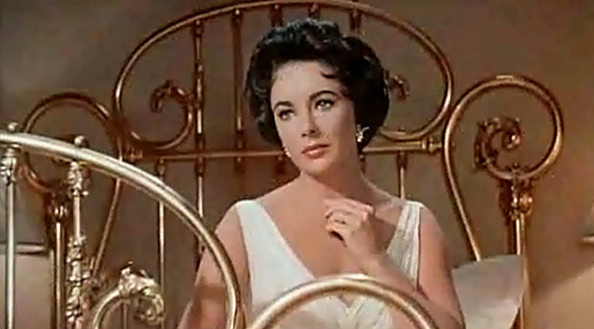 What a Dame -- Elizabeth Taylor as Maggie in Cat on a Hot Tin Roof