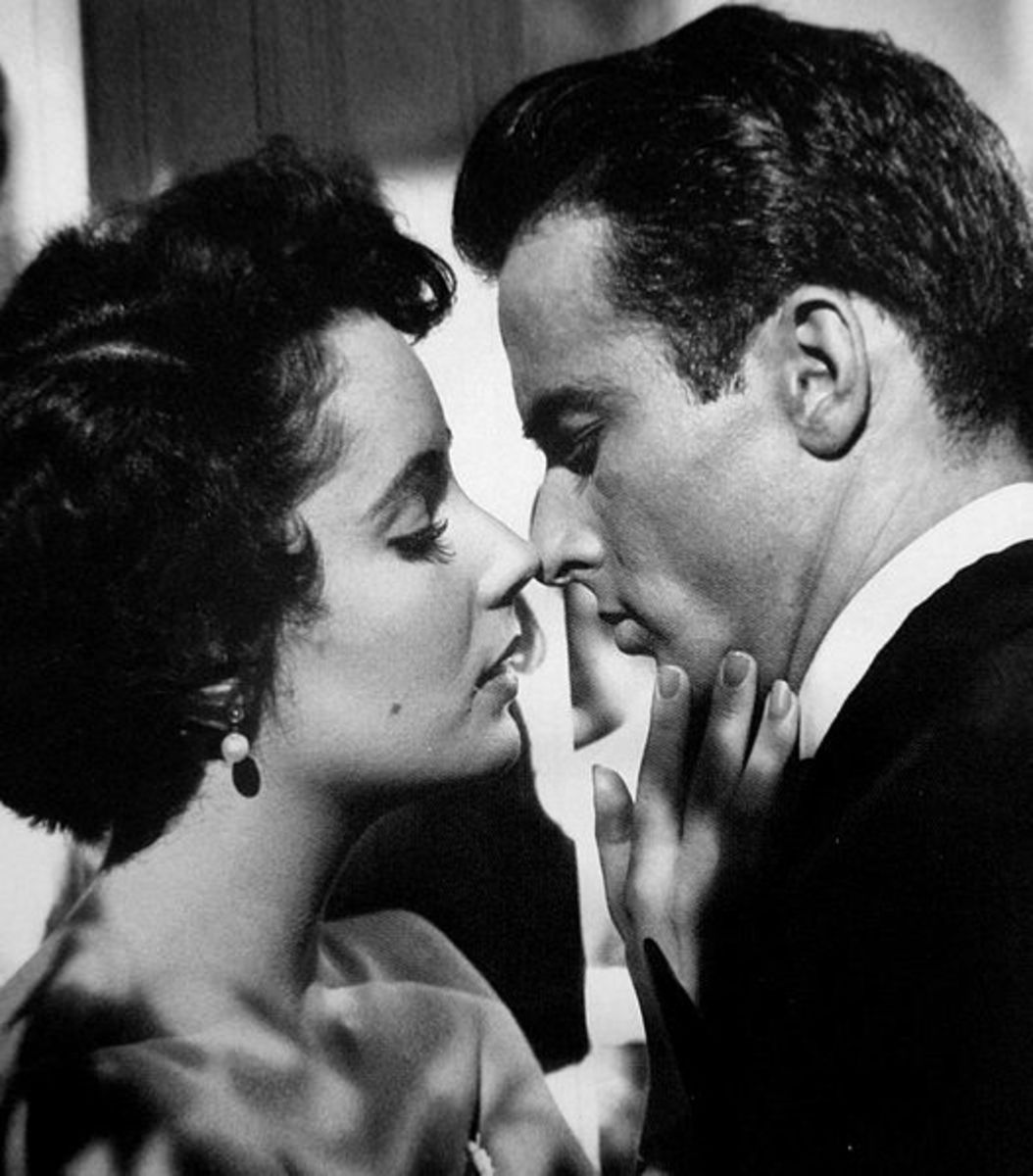 Elizabeth Taylor and Montgomery Clift in Suddenly, Last Summer