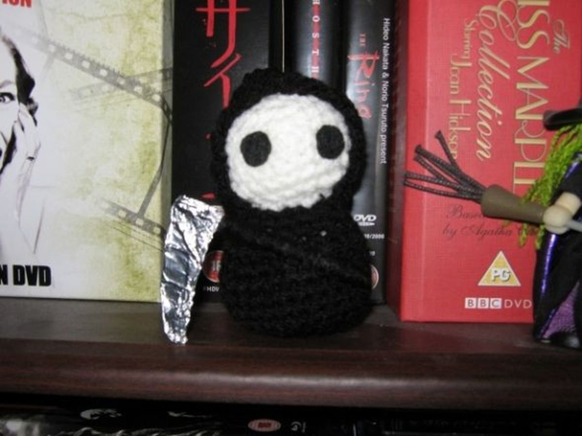 Grim Reaper, also from Creepy Cute Crochet
