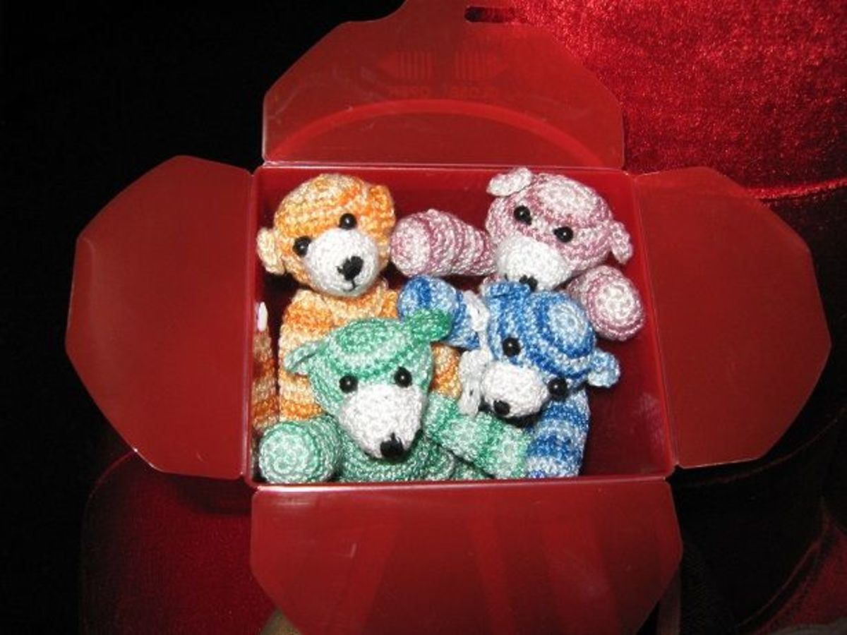 Lemming's Crochet Cuties
