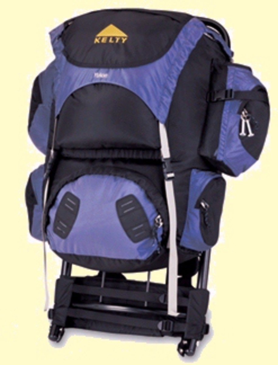 Kelty Backpack with external frame