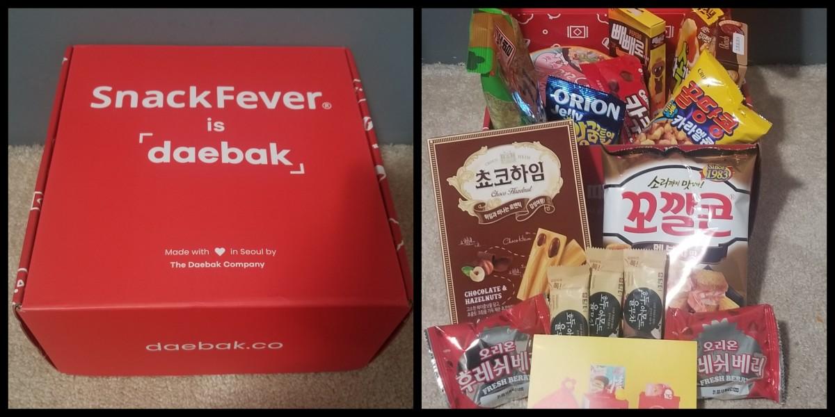 My September 2020 SnackFever Box