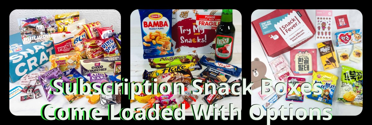Sampling Subscription Snack Boxes