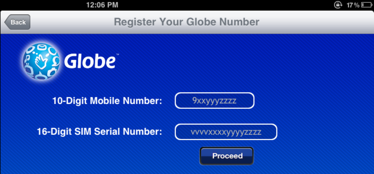 How to Load ipad Globe Sim Card | Check Balance and more | HubPages