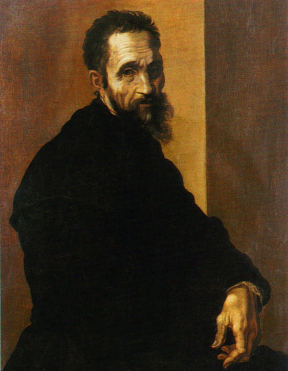Portrait of Michelangelo.