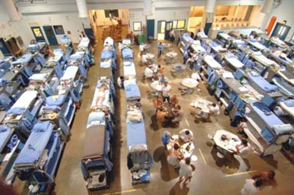 Prison overcrowding problems
